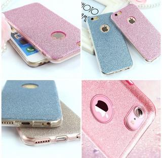 Funda Protector Glitter iPhone 5,5s,6,6 Plus,7,7 Plus