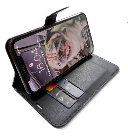 Capinha Carteira iPhone 11, Pro, Max C/ Pelicula Brinde Gel