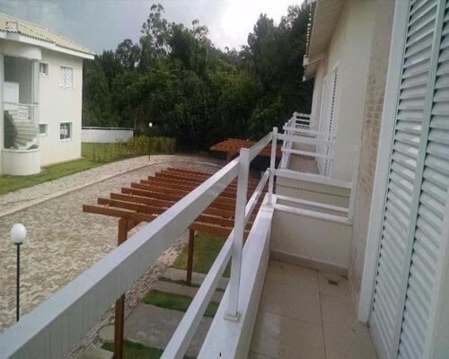 Imagem 1 de 21 de Linda Casa Nova À Venda No Condomínio San Nicholas Em Vinhedo/sp. - Ca001250 - 67743852
