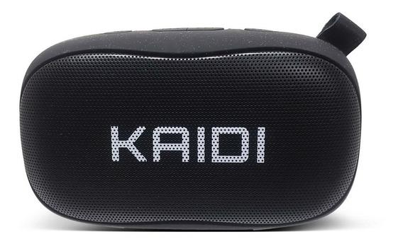 Caixa De Som Bluetooth Kaidi Kd811 Preto