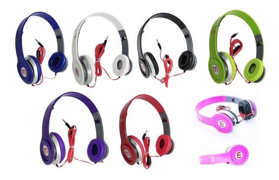 10 Fone Ouvido Mex Style Headphone Celular Smartphone Radio