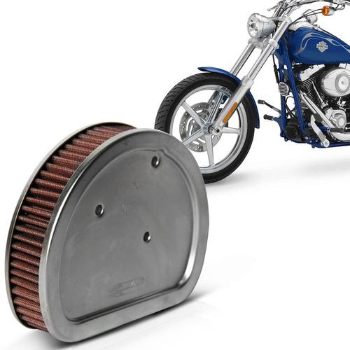 Filtro Ar Moto K&n Harley Davidson Twin Cam Rocker 08 A 2011