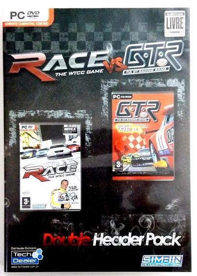 Game Pc Double Header Pack Race Vs. Gtr