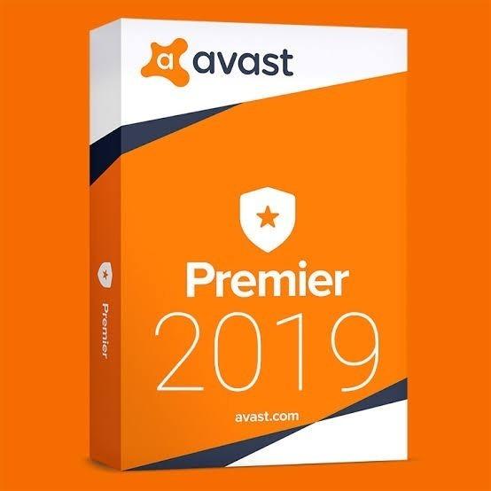 Avast Premier 2019 Chave 5 Pc