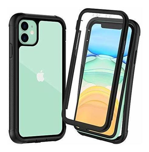Otbba iPhone 11 Case, Cuerpo Completo Con Protector De Panta
