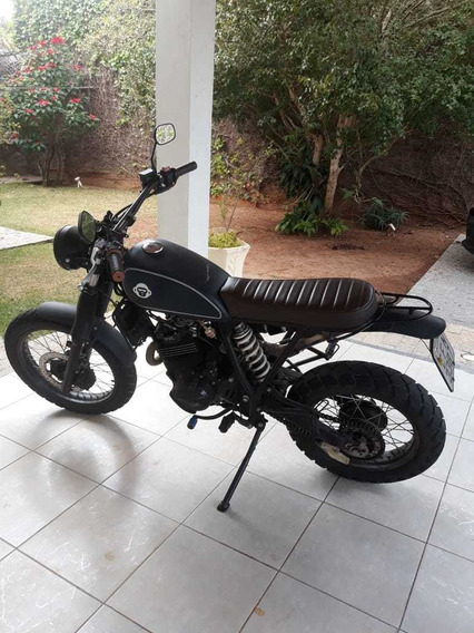 Moto Custom Honda Nx 350 Sahara