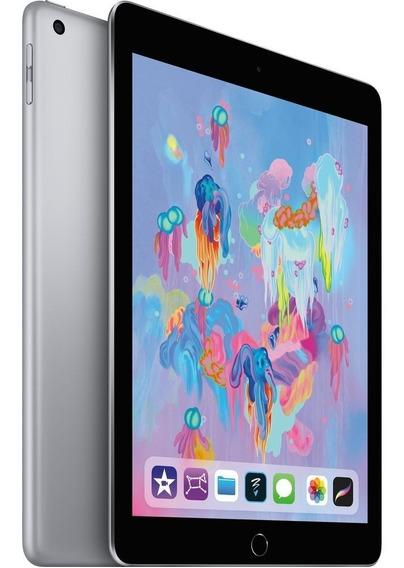 Novo Apple iPad 6 9.7 128gb Wi-fi Lacrado, Garantia E Nf