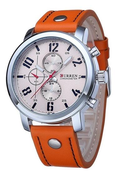 Relógio Curren 8192 Esportivo Original Barato Imperdível