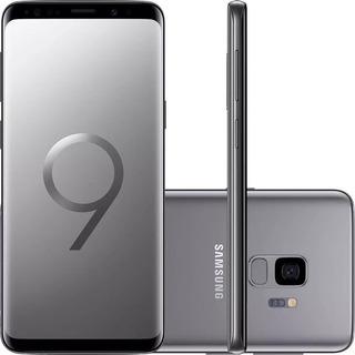 Samsung Galaxy S9 G9600z 128gb Dual 12mp Cinza Mancha Tela