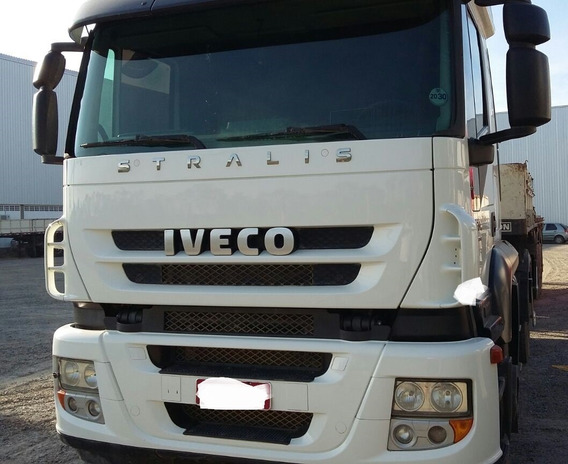 Iveco Stralis 460 - 6x4 - 2011 - Único Dono - Completo
