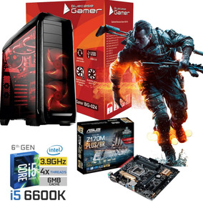 Pc Cpu Gamer I5 6600k + Asus Z170 + 8gb Ddr4