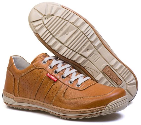 Sapato Sapatênis Casual Ranster 3002 Mostarda + Frete Grátis