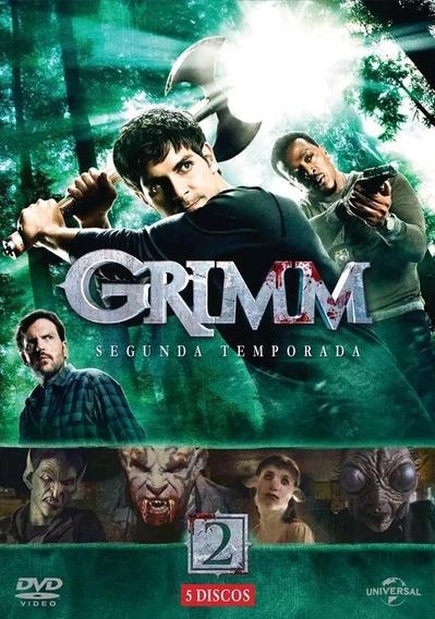Grimm 2ª Temporada - Box Com 5 Dvds - Novo
