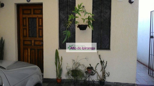 Espaçoso Sobrado Com 3 Dormitórios À Venda, 150 M²  - Vila Prudente - São Paulo/sp - So0804