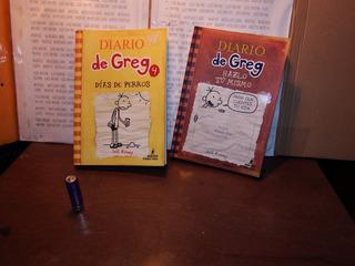 Pack 2 Libros Diario De Greg Días De Perros Hazlo Tu Mismo