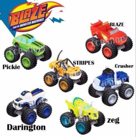 Carrinhos Blazer Marchine Racer C/ 6 Unidades C/ Fricção