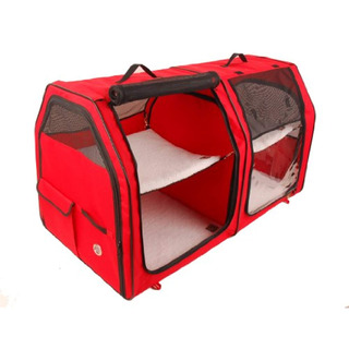 One For Pets Doble Cat Show House Portable