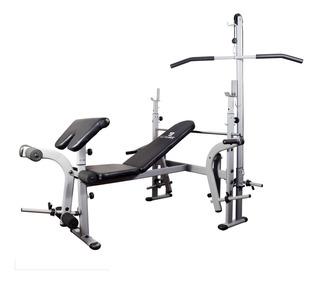 Banco Gym Ultrafit + Todos Los Accesorios - 2 Da Selección