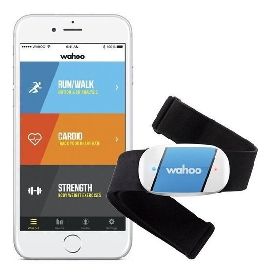Tickr Wahoo Fitness Monitor Cardiaco Para iPhone E Android