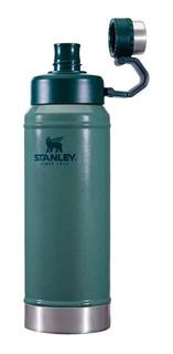 Botella Stanley Para Líquidos 1 Litro Verde Clásico