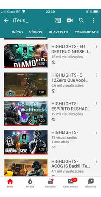 Vendo Canal No Youtube Com 6k Super Ativo