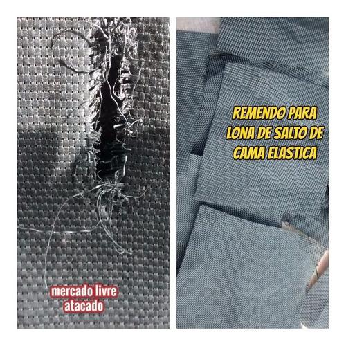 Imagem 1 de 10 de Reparo  Para Lona De Salto De Pula Pula Com 1.00 X 0.40 Mts