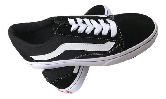 Zapatos Vans Old Skool Para Damas Y Caballeros Juvenil