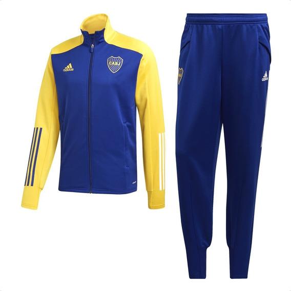Conjunto adidas Boca Juniors 2020 Hombre Entrenamiento