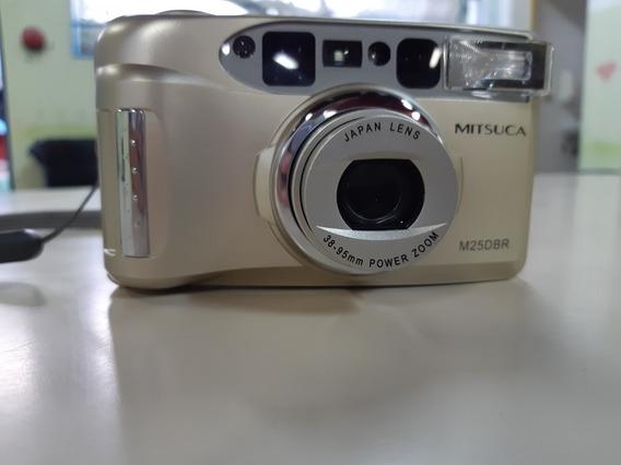 Câmera Analógica Máquina Fotográfica Mitsuka M25dbr Leia