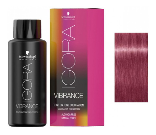 Tinte Igora Vibrance 9,5-98 Violeta Rojo - L a $127