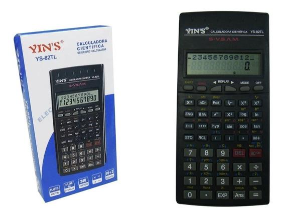 Calculadora Científica Super 12 Dígitos Com Capa Engenharia