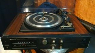 Sanyo Gxt 4415 K Bandeja Bsr Amplificador Bafles 1974 Retro