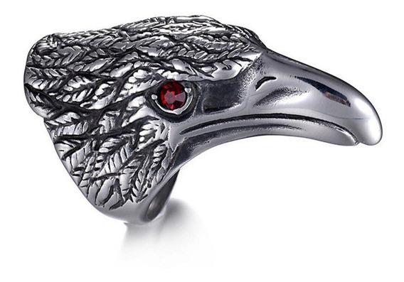 Anillo Acero Inox Cuervo