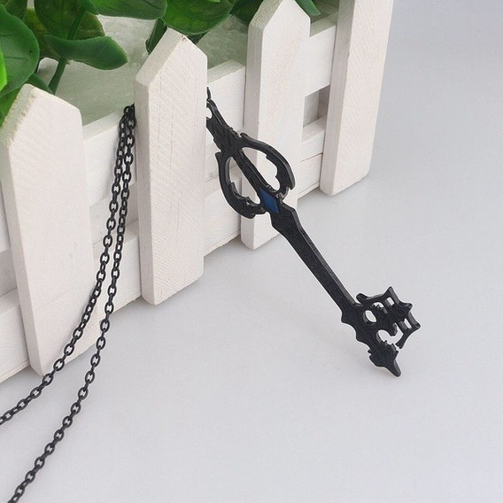 Colar Anime Kingdom Hearts Oblivion Keyblade
