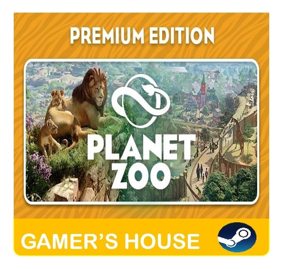 Planet Zoo Pc Steam Premium Edition - Original Offline