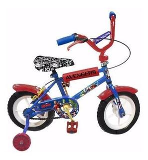 Bicicleta Rodado 12 Avengers Magic Makers