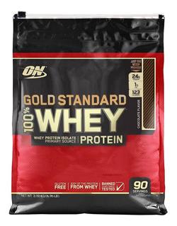 Gold Standard 6.35lbs 2.88kg - Chocolate - Importado **eua