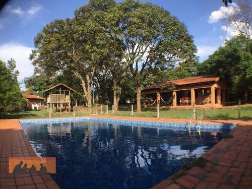 Chácara À Venda, 3700 M² Por R$ 1.500.000,00 - Chácara Belvedere - Campinas/sp - Ch0025