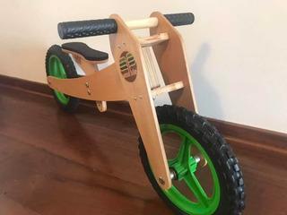 Bicicleta De Madeira - Woodbike