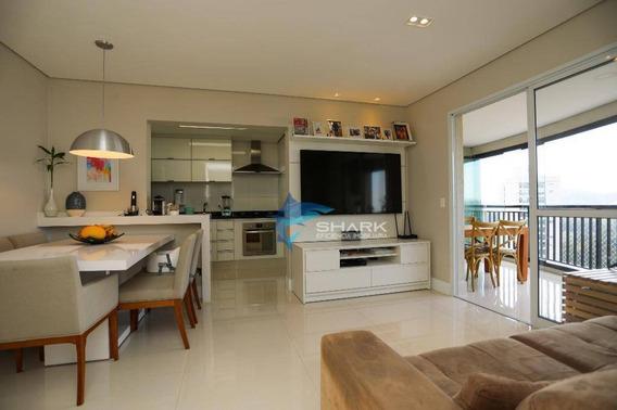 Apartamento Com 3 Dormitórios À Venda, 96 M² Por R$ 850.000 - Alphaville Empresarial - Barueri/sp - Ap0006