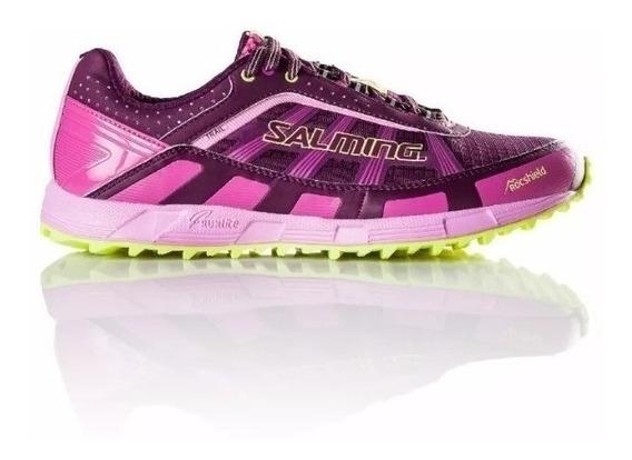 Zapatillas Salming Running Trail T3 Mujer Originales Cuotas