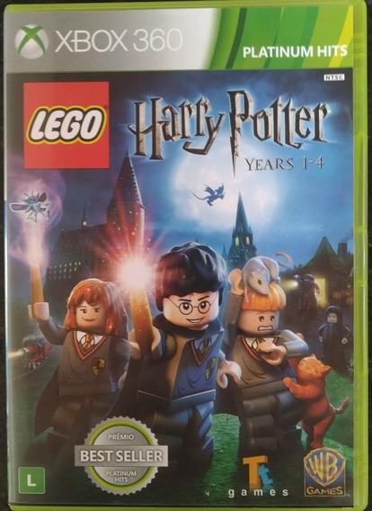 Jogo Harry Potter 1-4 Lego Original Xbox 360 - Semi-novo