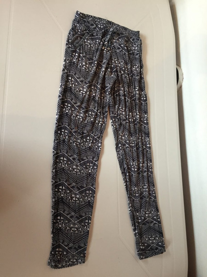 Calza Pantalon De Algodon Y Lycra Babucha Talle Xs