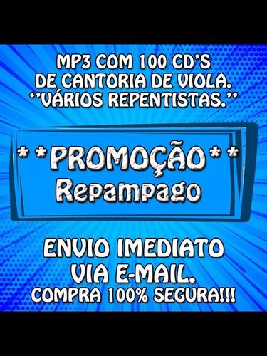 -mp3 Com 100 Cds De Cantoria De Viola-