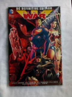 Trinity War Dc Definitive Edition Batman Justice League
