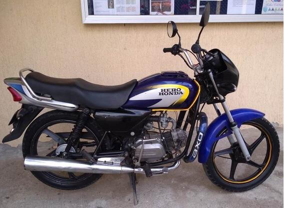 Moto Hero Honda 2007 Sin Seguro Y Revisión Con Rines De Cell