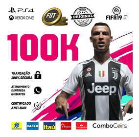 Fifa 19 Coins Xbox One 100k Ultimate Team Fut - Enviando Já