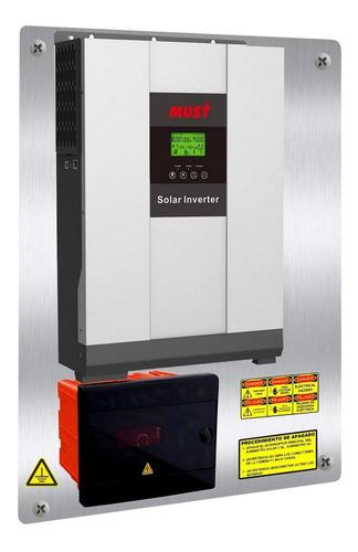 Tablero Inversor Cargador  Solar Must 3kw/6kw Mppt 80a 48v