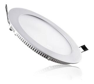 Panel Led De Embutir 18w Circular Luz Fría Driver Incluido