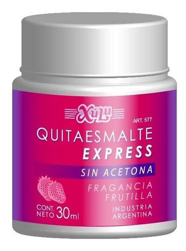 Quitaesmalte De Uñas Express Con Esponja Xúlu Z577